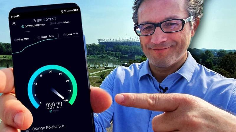 Orange uruchomił w Warszawie testową sieć 5G