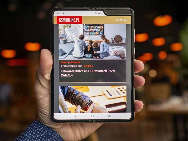 Samsung Galaxy Fold - nasze pierwsze wrażenia prosto z Warszawy