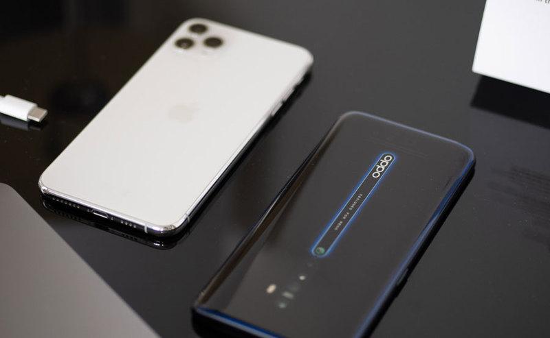 Porównanie zdjęć z OPPO Reno 2 i iPhone 11 Pro Max