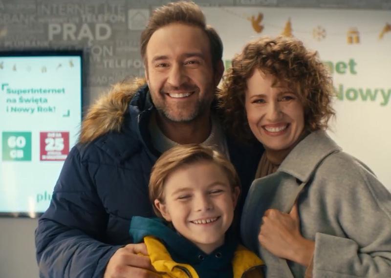 Ruszyła świąteczna kampania reklamowa Plusa