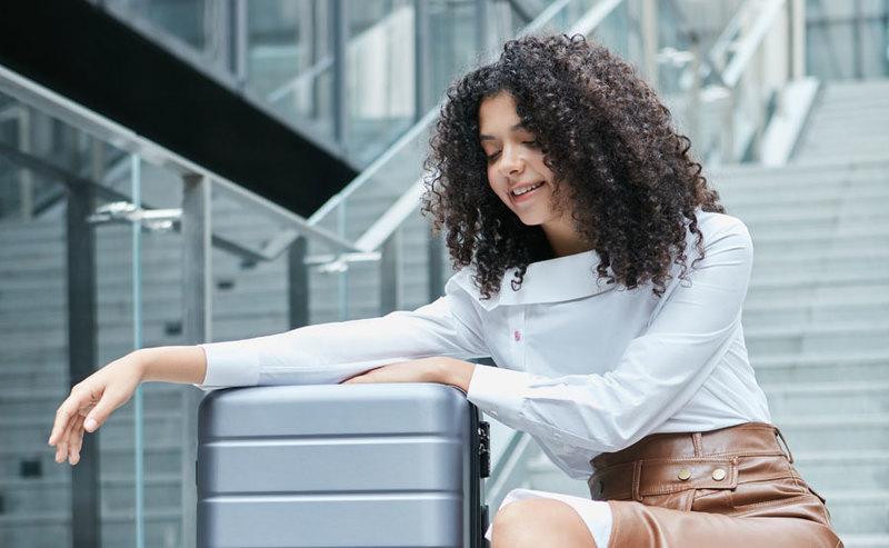 Mi Air Purifier 3H i podręczne walizki
