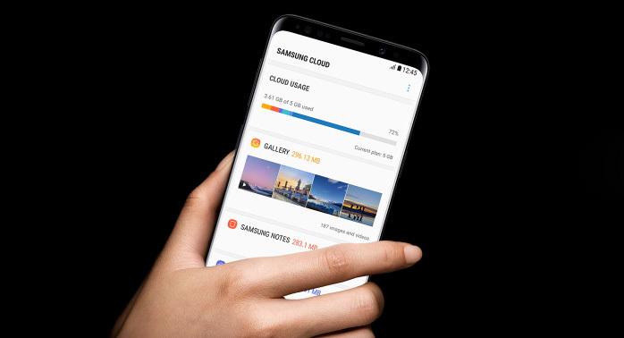 OneDrive zamiast Samsung Cloud