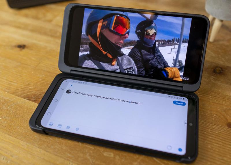 LG G8X jest stworzony dla fanów Netflixa, HBO i Youtube
