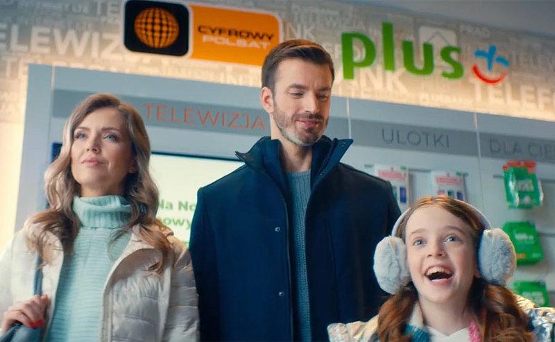 Nowa reklama oferty Plus Internet