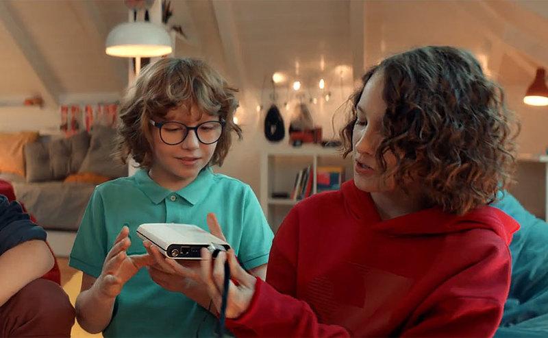 Telewizja internetowa z dekoderem EVOBOX Stream - nowa reklama Cyfrowego Polsatu