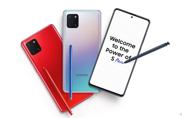 Galaxy S10 Lite i Note 10 Lite