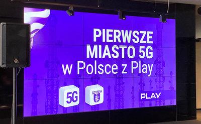 Play pochwalił się 5G w Trójmieście