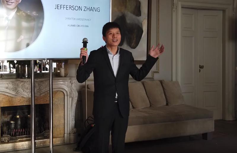 Jefferson Zhang, dyrektor zarządzający Huawei CBG Polska