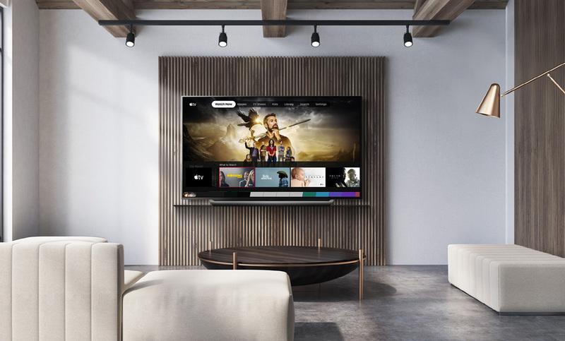 Usługi Apple na kolejnych telewizorach LG i na telewizorach SONY