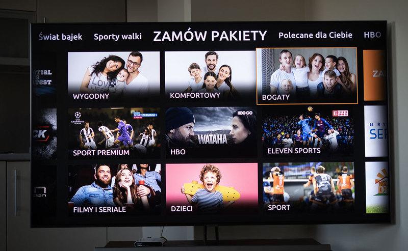Zmiany w ofercie telewizji internetowej (OTT) Cyfrowego Polsatu