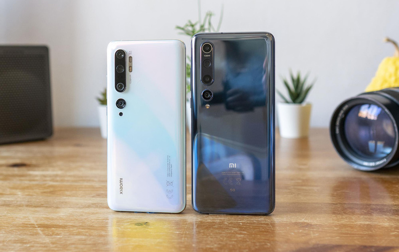Porównanie aparatów Xiaomi Mi 10 vs Xiaomi Mi Note 10