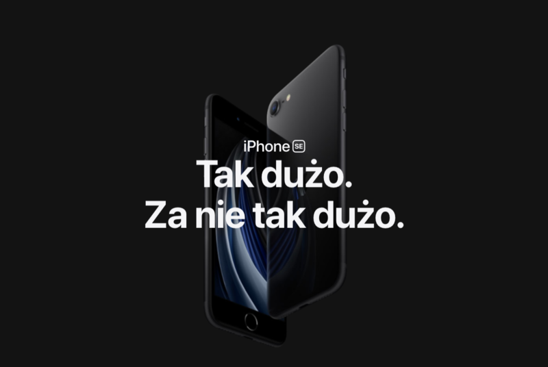 Ceny iPhone SE w Polsce