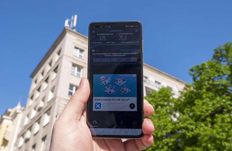 Testy 5G w Plusie