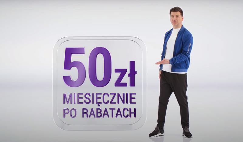 Tomasz Kammel w nowej kampanii Play