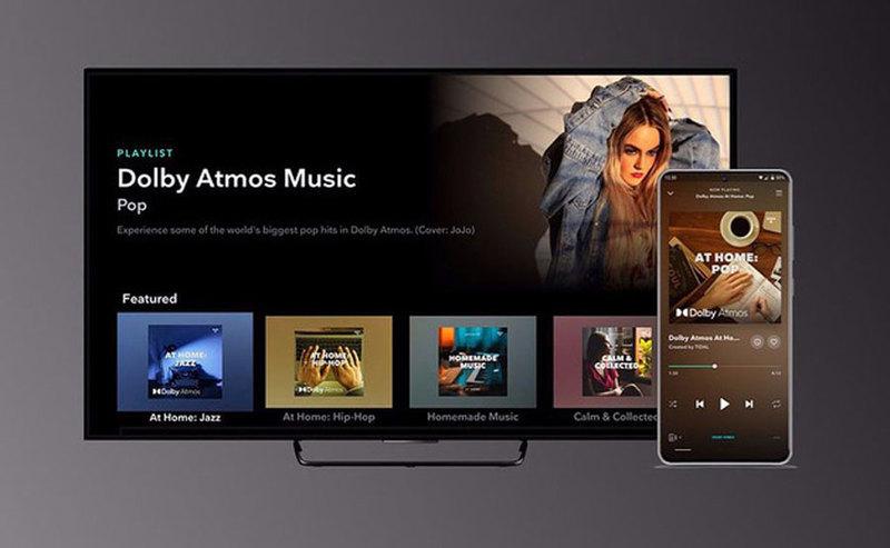 TIDAL pierwszym serwisem muzycznym oferującym dźwięk Dolby Atmos na telewizorach