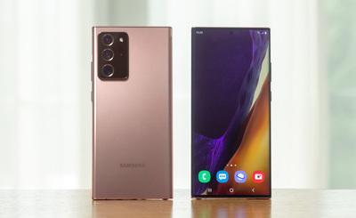 Samsung Galaxy Note 20 5G i Samsung Galaxy Note 20 Ultra 5G w Play (ceny)
