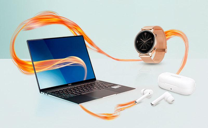 Ceny Huawei MateBook X Pro z Watch GT 2 ELEGANT i FreeBuds 3i w Orange