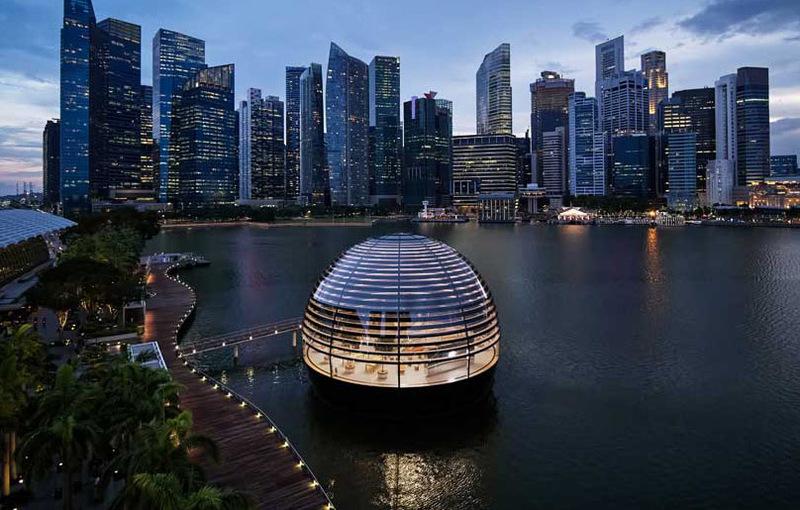 Apple Marina Bay Sands otwiera się w czwartek w Singapurze