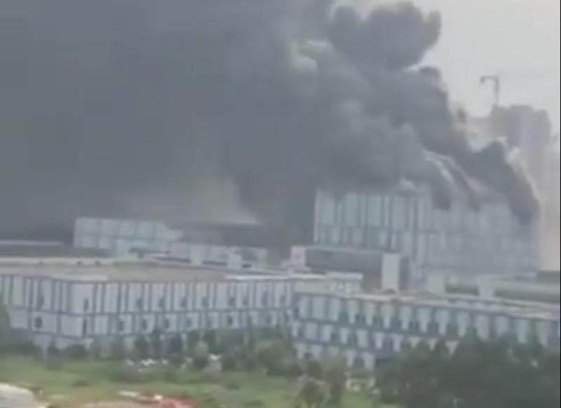 Pożar w fabryce Huawei - 3 osoby nie żyją