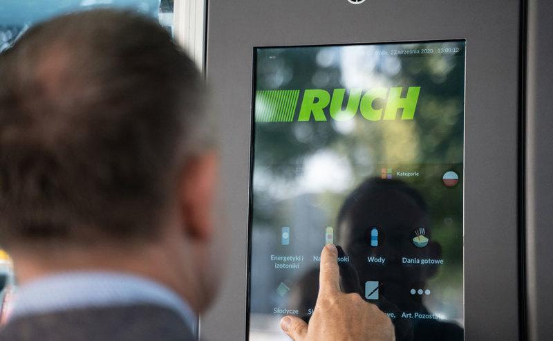 Pierwszy samoobsługowy kiosk RUCHu