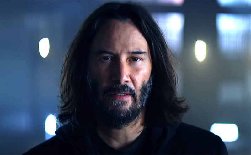 Keanu Reeves w nowej reklamie Cyberpunk 2077