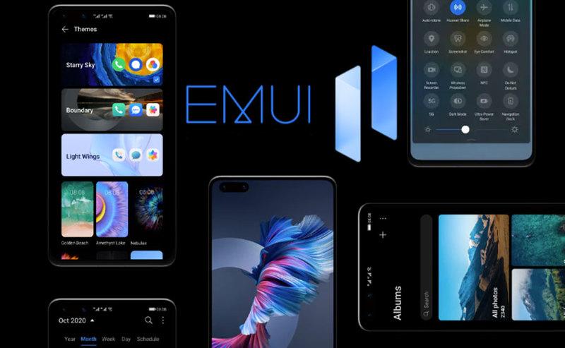 Aktualizacja do EMUI 11 dla 20 modeli smartfonów i tabletów Huawei