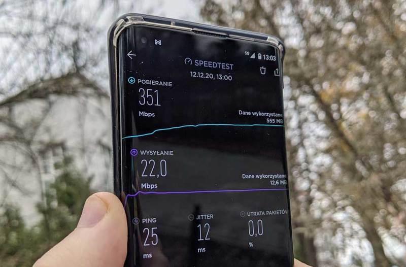 Jaką różnicę robi 5G? Test sieci 5G Plusa w stolicy