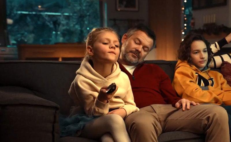 Nowa reklama promująca usługi TV Cyfrowego Polsatu