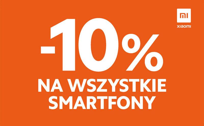 -10% na WSZYSTKIE smartfony Mi, Redmi oraz POCO!