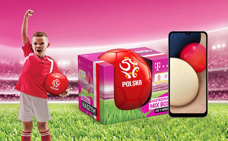 Nowy piłkarski MIX BOX dla dzieci i młodzieży w T-Mobile