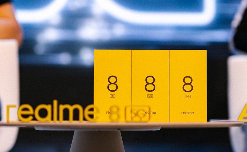Ceny realme 8 5G i realme C21