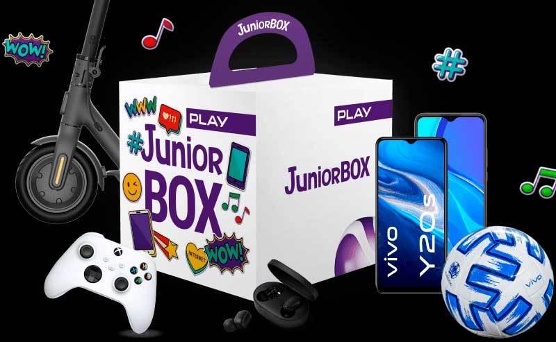 Nowy Junior BOX z zestawami vivo z piłką UEFA EURO 2020