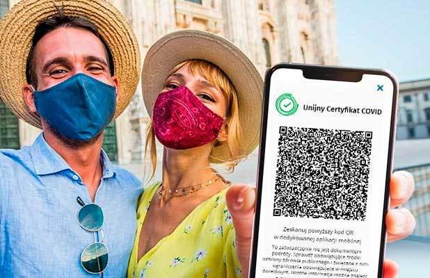 Podróżuj po Europie z Unijnym Certyfikatem COVID