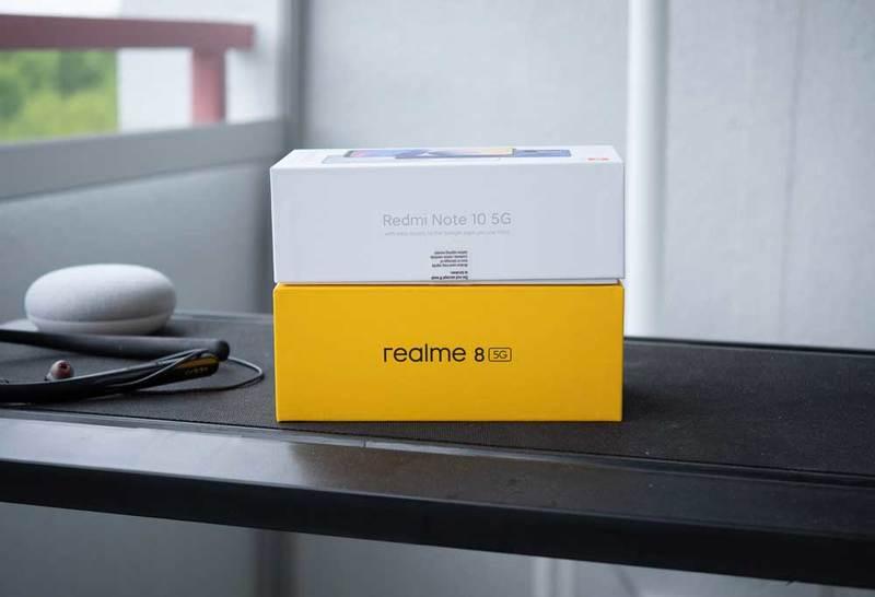 realme 8 5G versus Redmi Note 10 5G – nasza recenzja porównawcza
