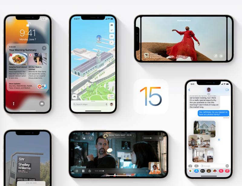 iOS 15 - lista zmian i nowości