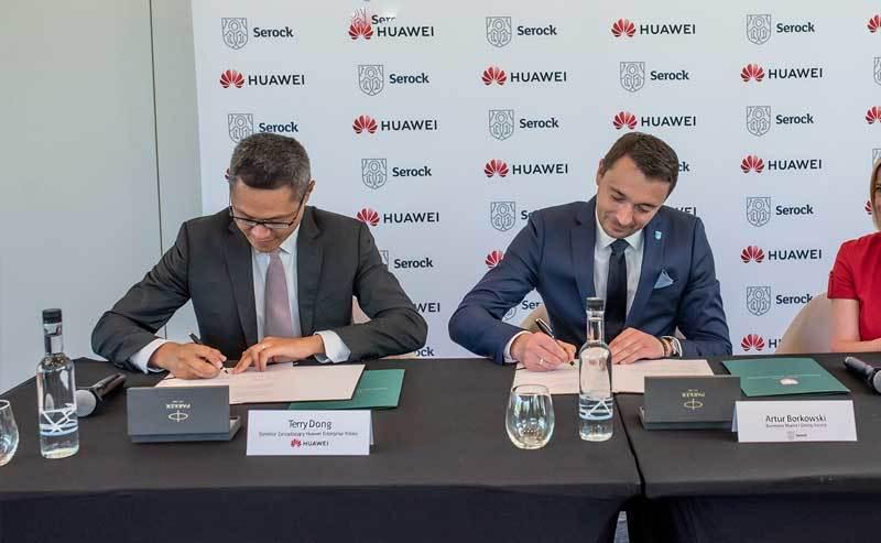 Huawei wspiera Serock w budowie smart city