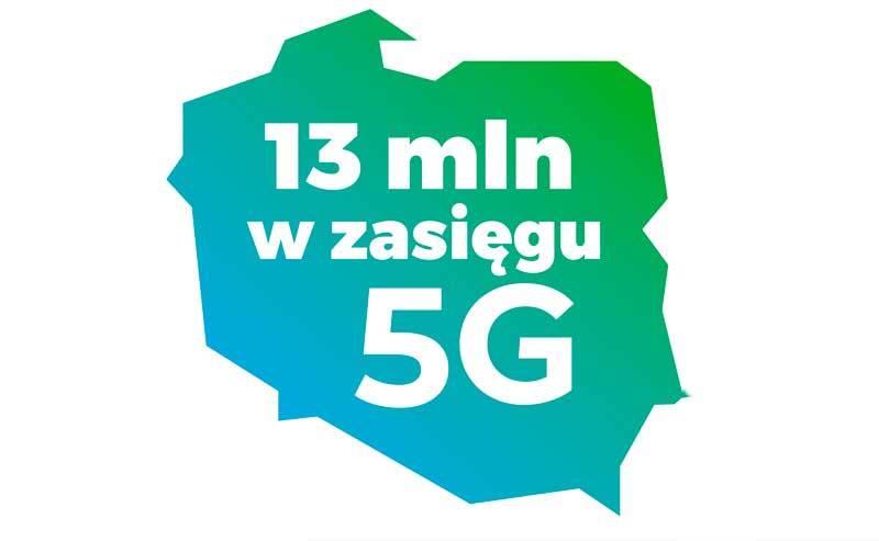 Aktualna lista miejscowości w zasięgu 5G Plusa