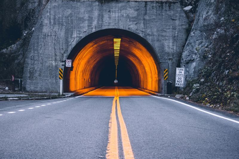 Zasięg w tunelu