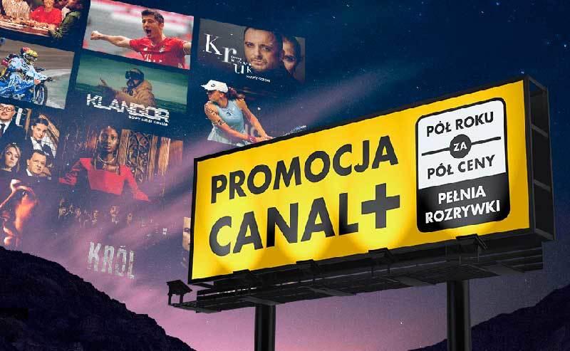 Nowa promocja CANAL+ Pół roku za pół ceny - pełnia rozrywki w JAMBOX