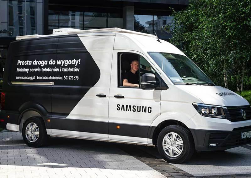 Rusza Mobilny serwis Samsung