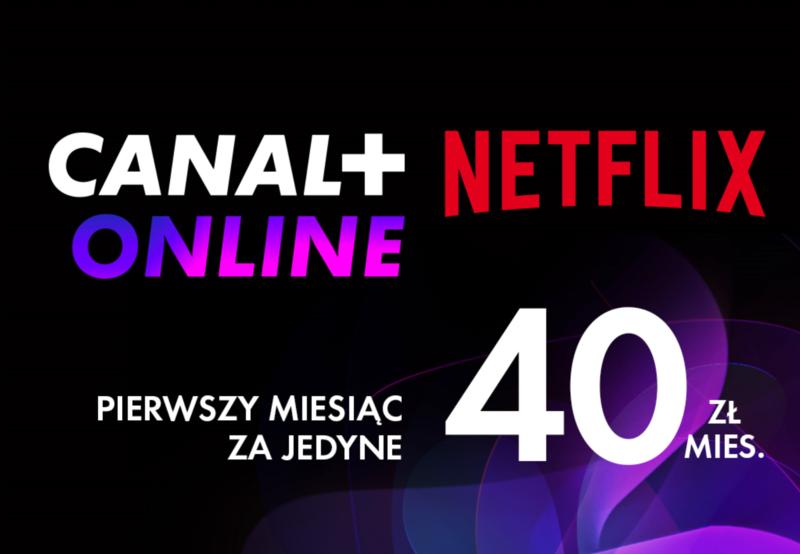 Wspólny abonament za Canal i Netflix