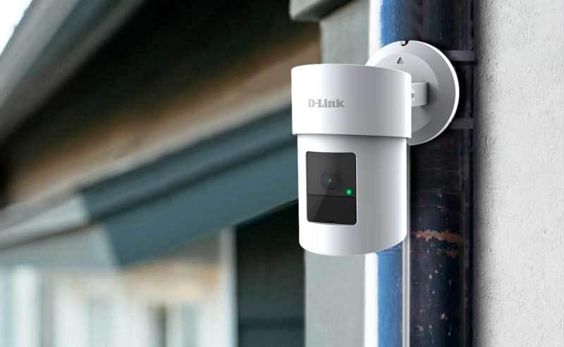 Obrotowa kamera 2K QHD WiFi D-Linka z funkcją wykrywania osób