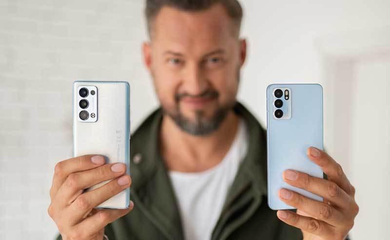 Nowe smartfony OPPO z serii Reno6 w przedsprzedaży w T-Mobile
