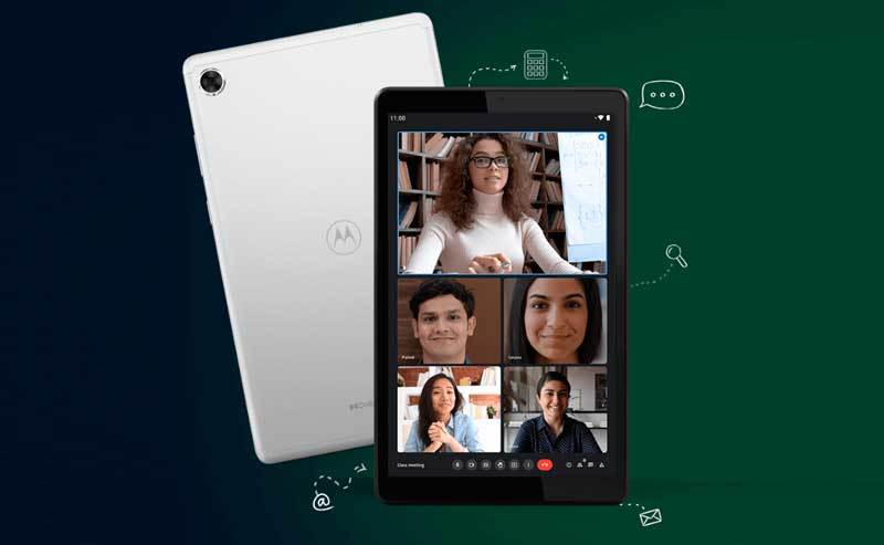 Motorola Moto Tab G20 - nowy tablet z ekranem 8 cali