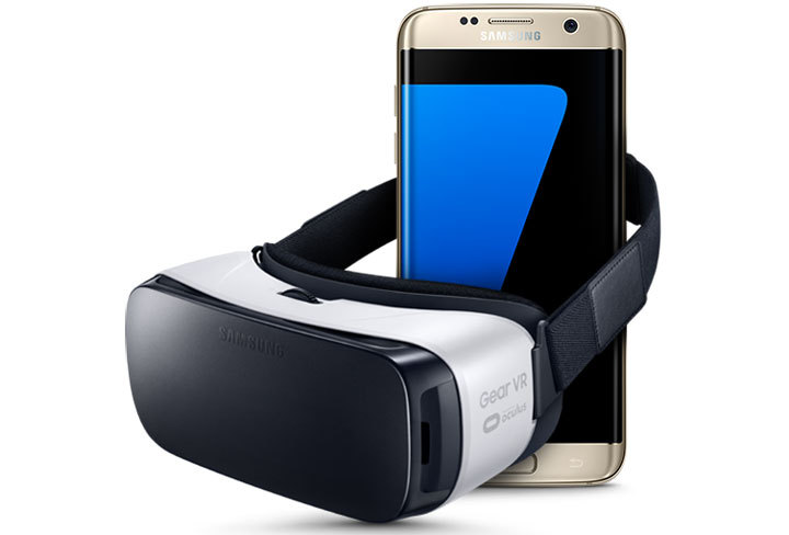 Samsung Galaxy S7 edge + Gear VR