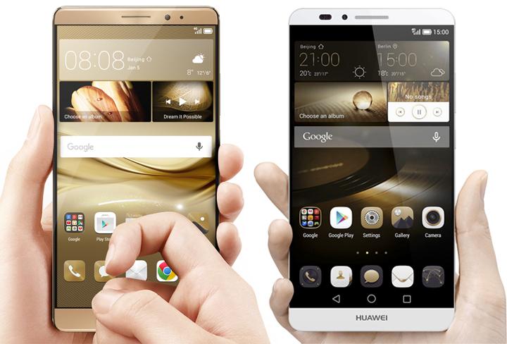 Huawei Mate 8 vs Huawei Mate 7