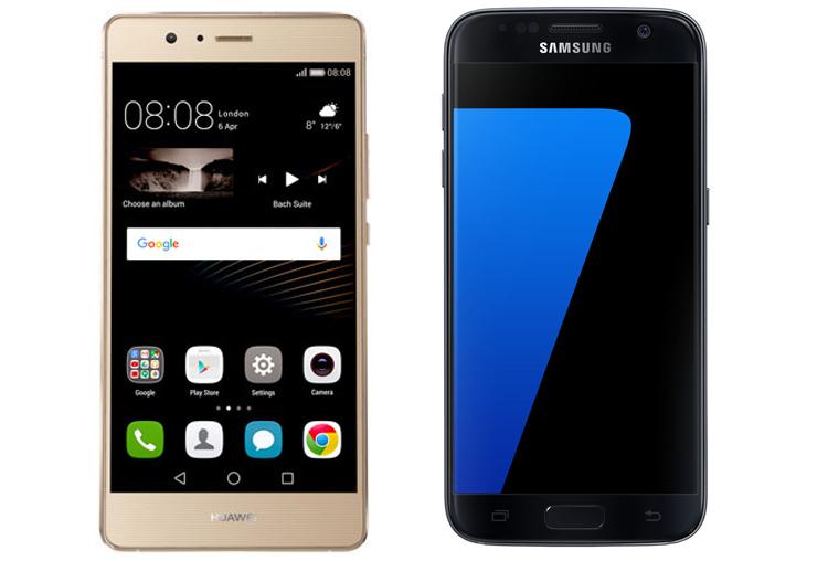 Huawei P9 lite vs Samsung Galaxy S7