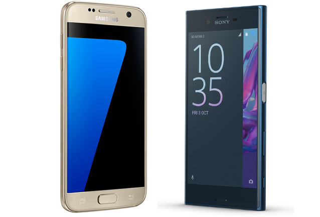 Sony Xperia XZ vs Samsung Galaxy S7