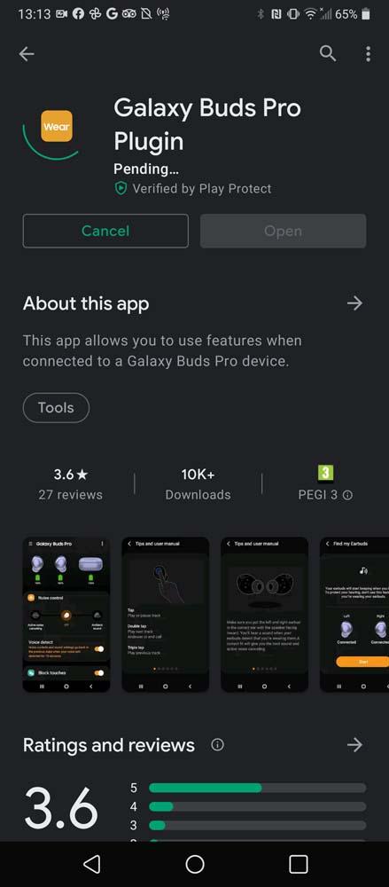 Samsung Galay Buds Pro