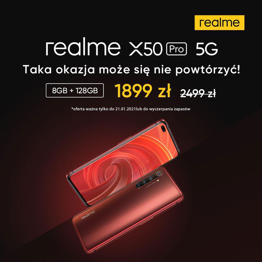 realme X50 Pro 5G za 1899 zł